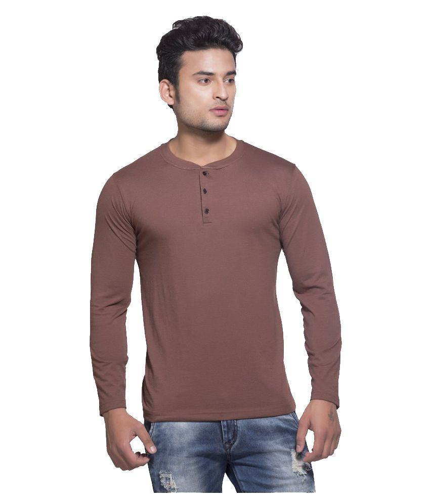Clifton Brown Henley T-Shirt