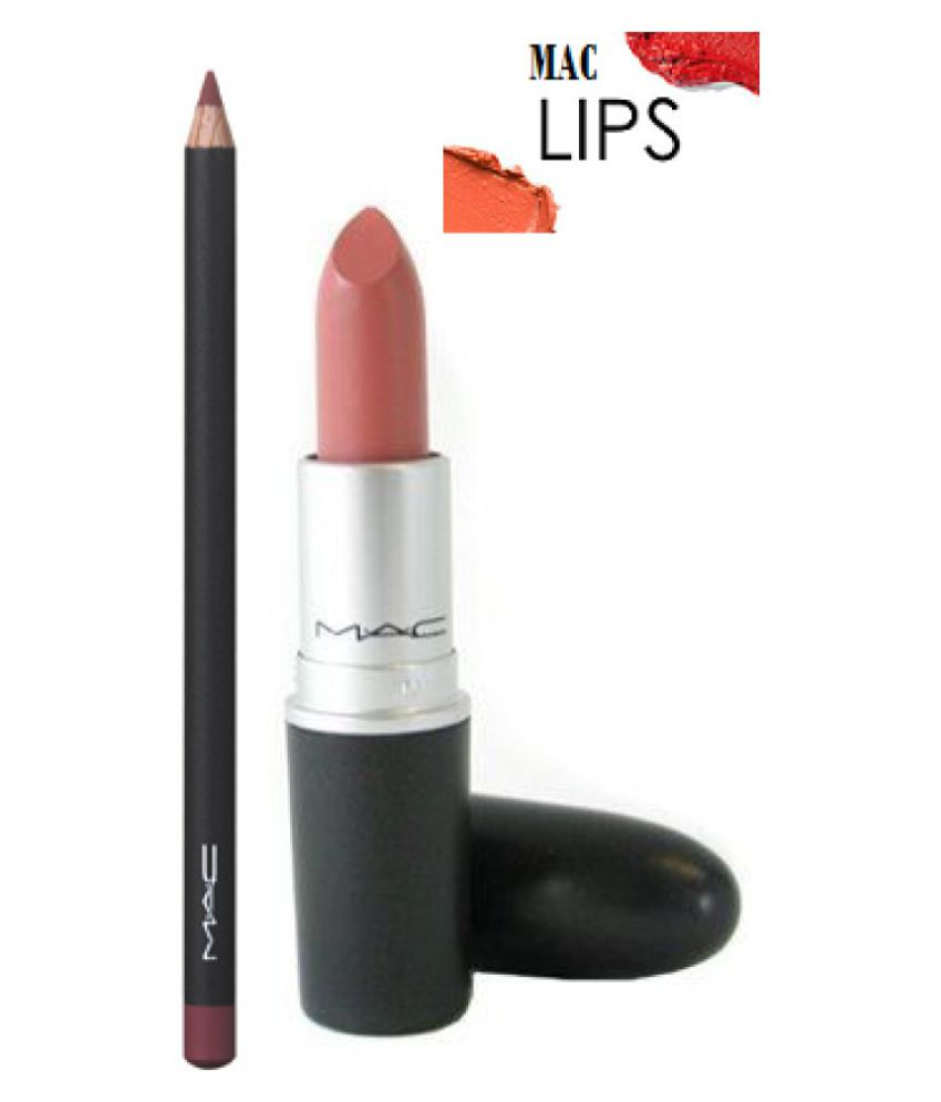 Bekend Mac imported Lipstick honeylove & lip liner 3 gm: Buy Mac imported @JK33