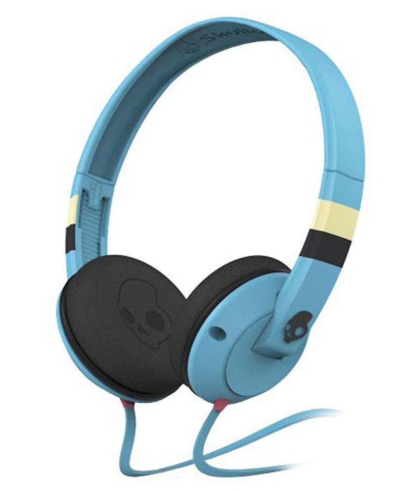 Skullcandy S5URFY-314 Uprock On-Ear Headphone (Strip/Blue) - Buy ...