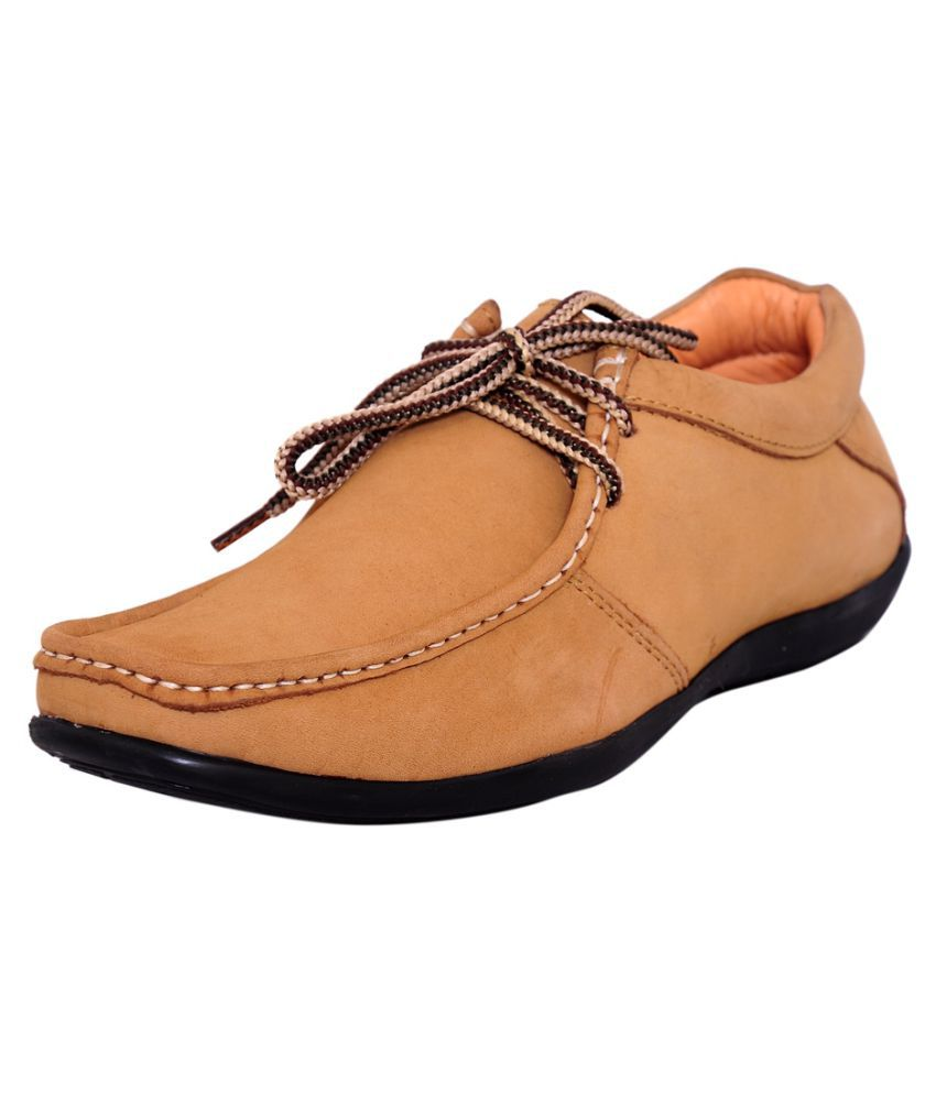 Zoom Brown Office Genuine Leather Formal Shoes Price In India Buy