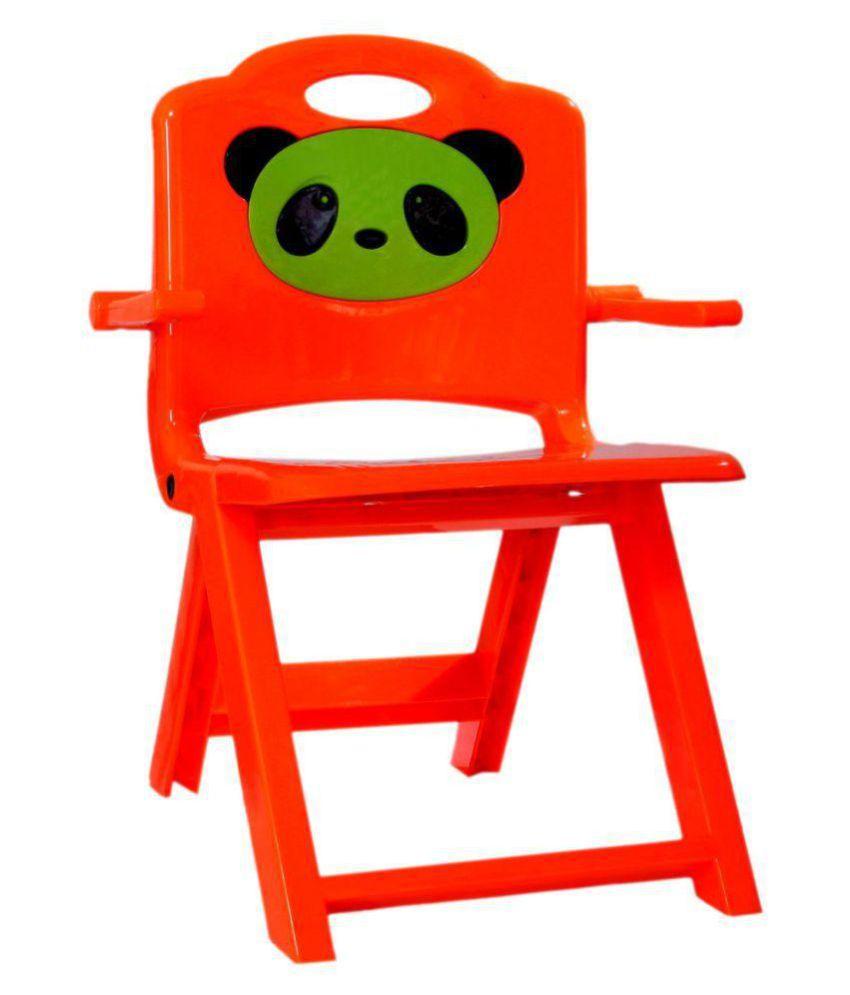 Wondrous Panda Orange Foldable Kids Chair Buy Panda Orange Foldable Gmtry Best Dining Table And Chair Ideas Images Gmtryco