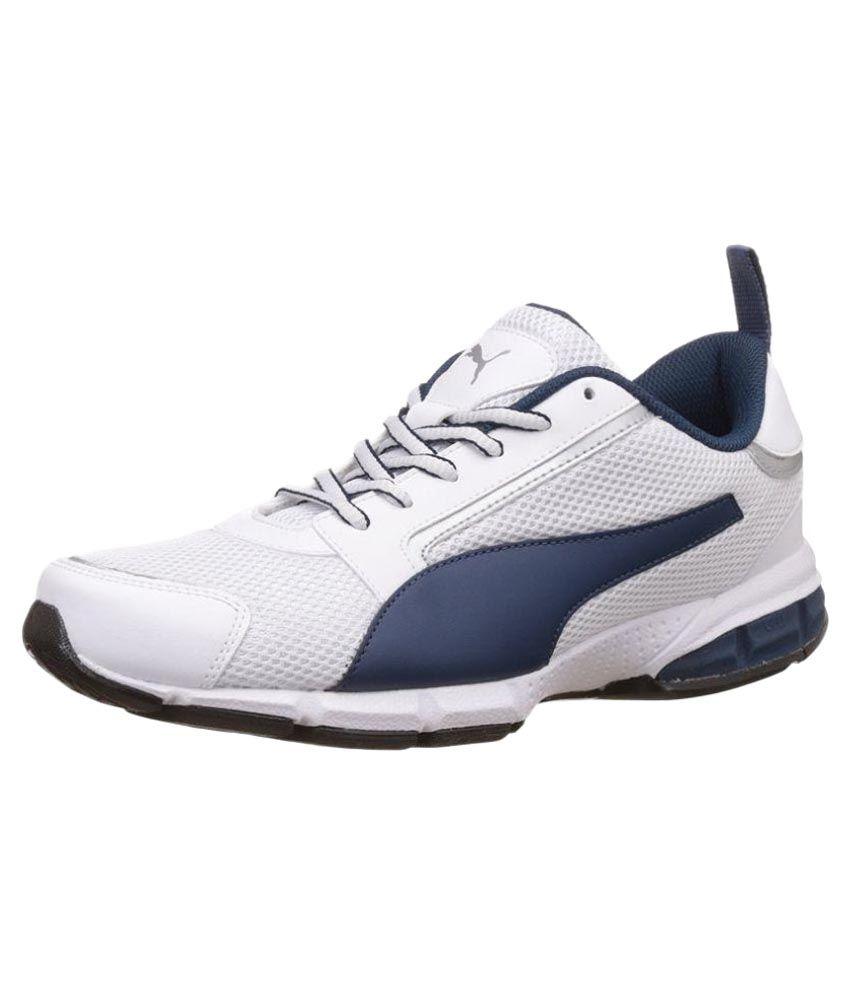 Puma Triton White Running Shoes ...