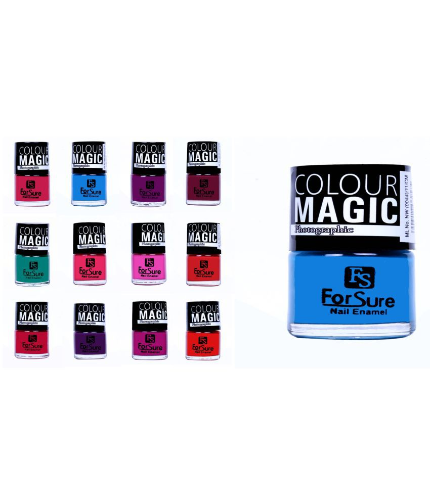 Forsure Nail Polish Multi Color 650gm gm