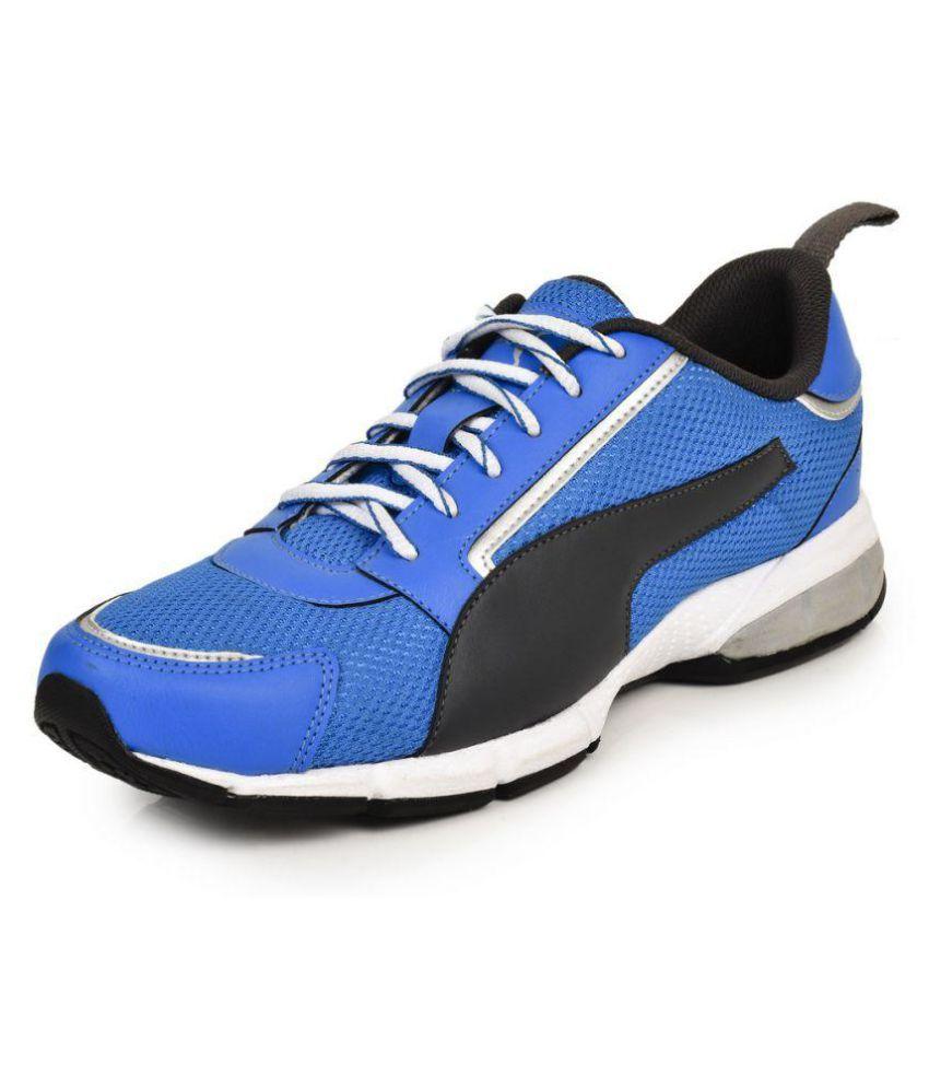 Puma Triton idp Blue Running Shoes ...
