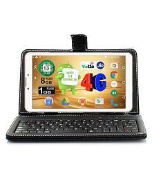 I Kall N4-8GB Tablet VoLTE White ( 4G + Wifi , Voice calling )