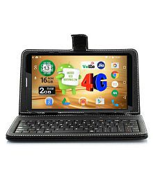 I Kall N5-16GB with Keyboard Volte Black ( 4G + Wifi , Voice calling )
