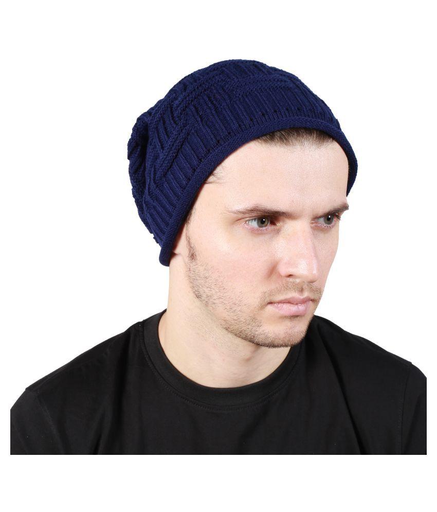 aa4f0d3da6d Noise Blue Plain Acrylic Caps - Buy Online   Rs.