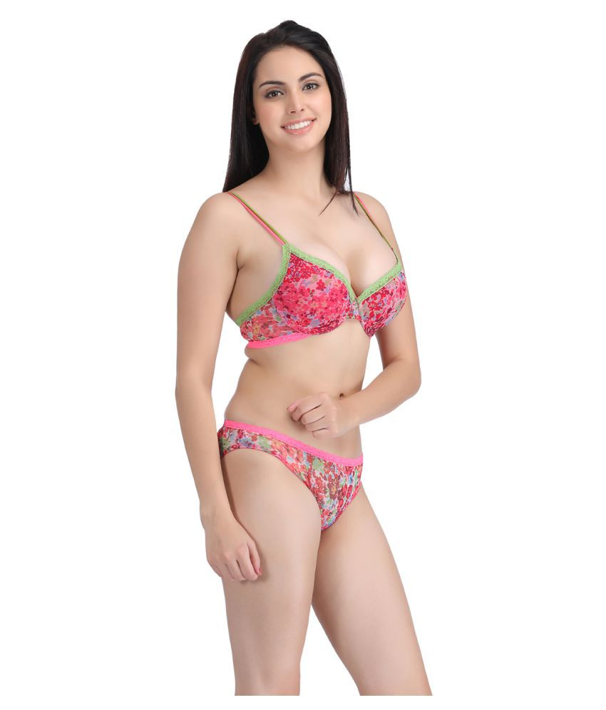 8e3bd169800af Buy Clovia Net Mesh Push Up Bra Online at Best Prices in India ...