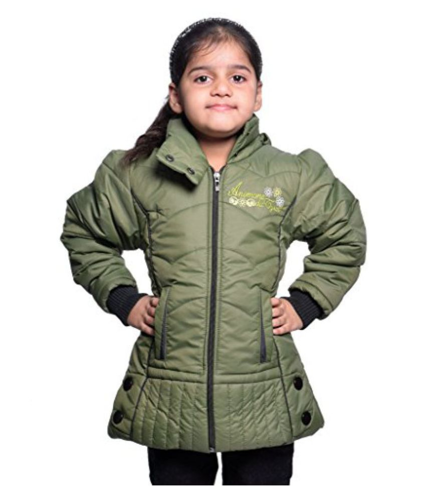Come In Kids Girl's Solid Jacket