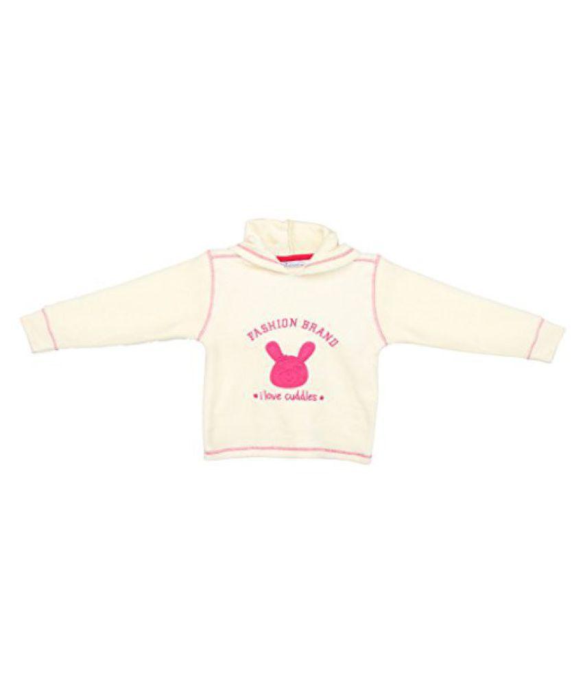 EIMOIE Baby Girl's Full Sleeves Winter Fleece Jacket