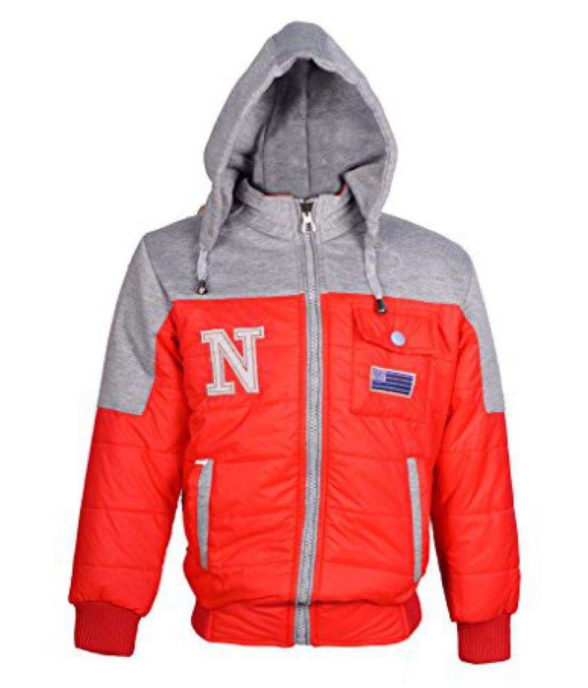 Naughty Ninos Boys Red Reversible Jacket for size 2-12 Years