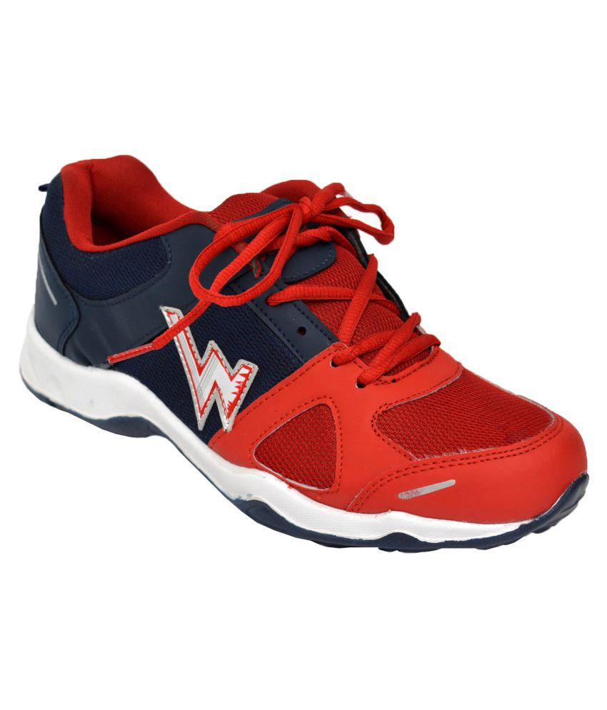Skydo Red Running Shoes