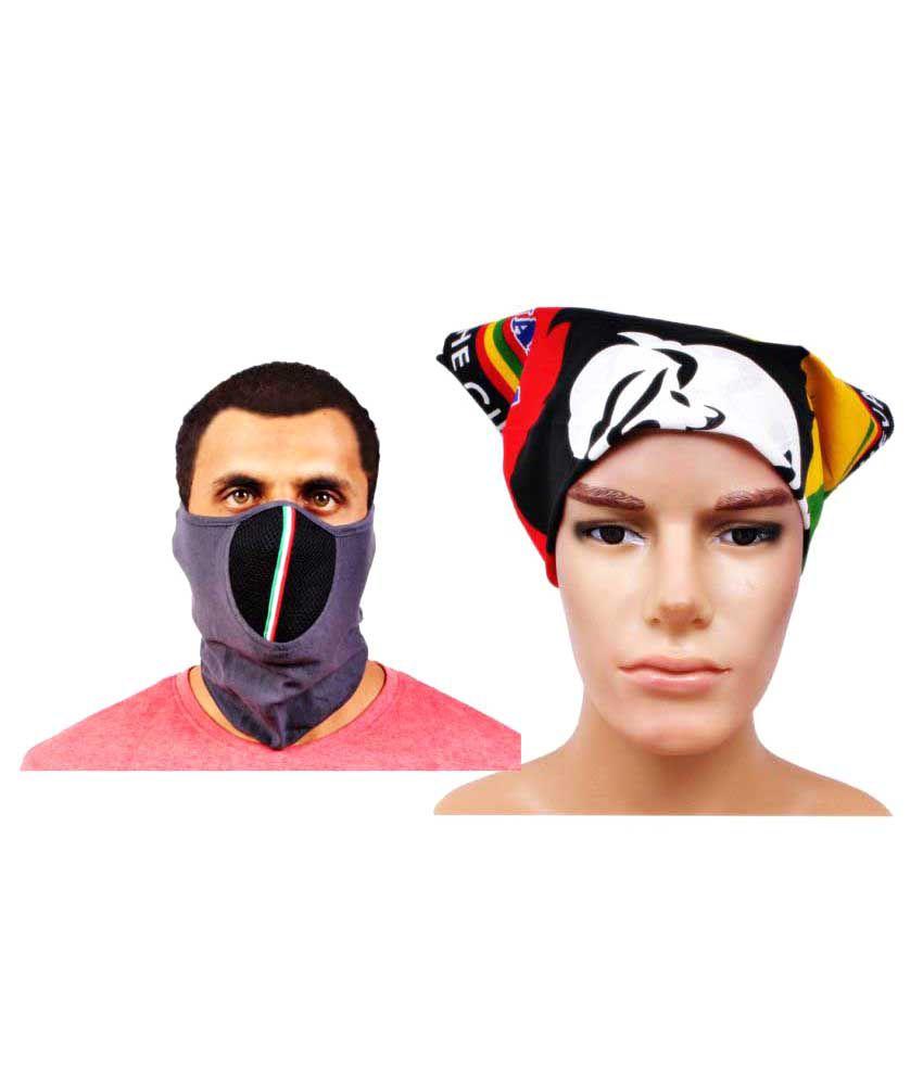 Sushito Multi Plain Polyester Headwraps
