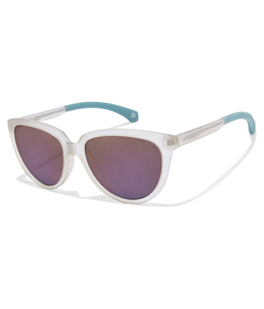 John Jacobs Purple Cat Eye Sunglasses ( JJ S10171 )