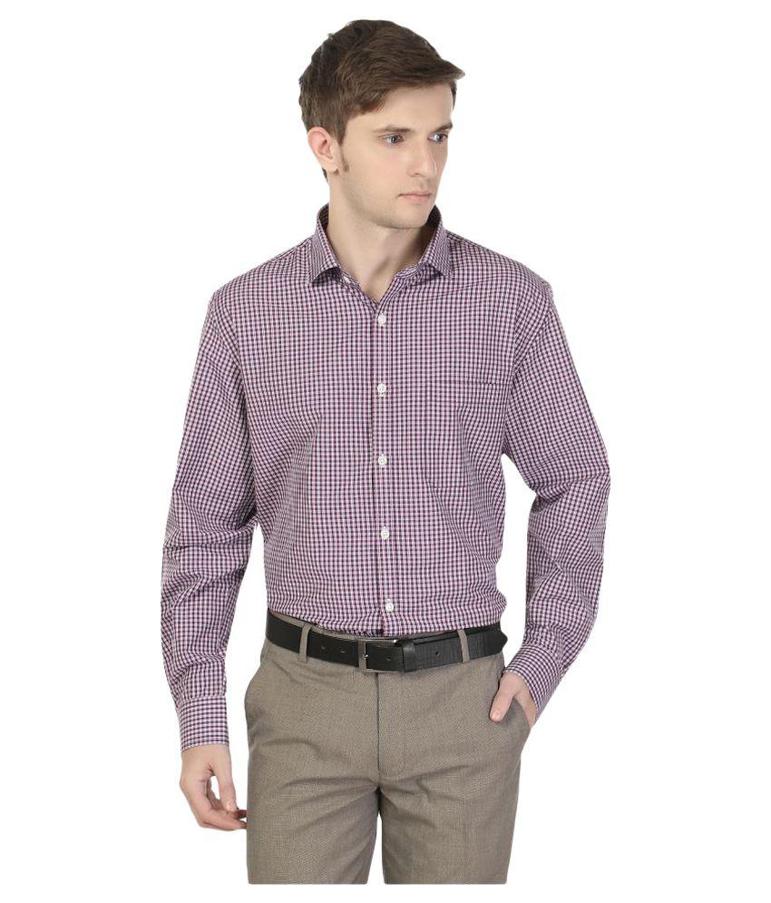 Fredd Jordan Multi Formal Slim Fit Shirt