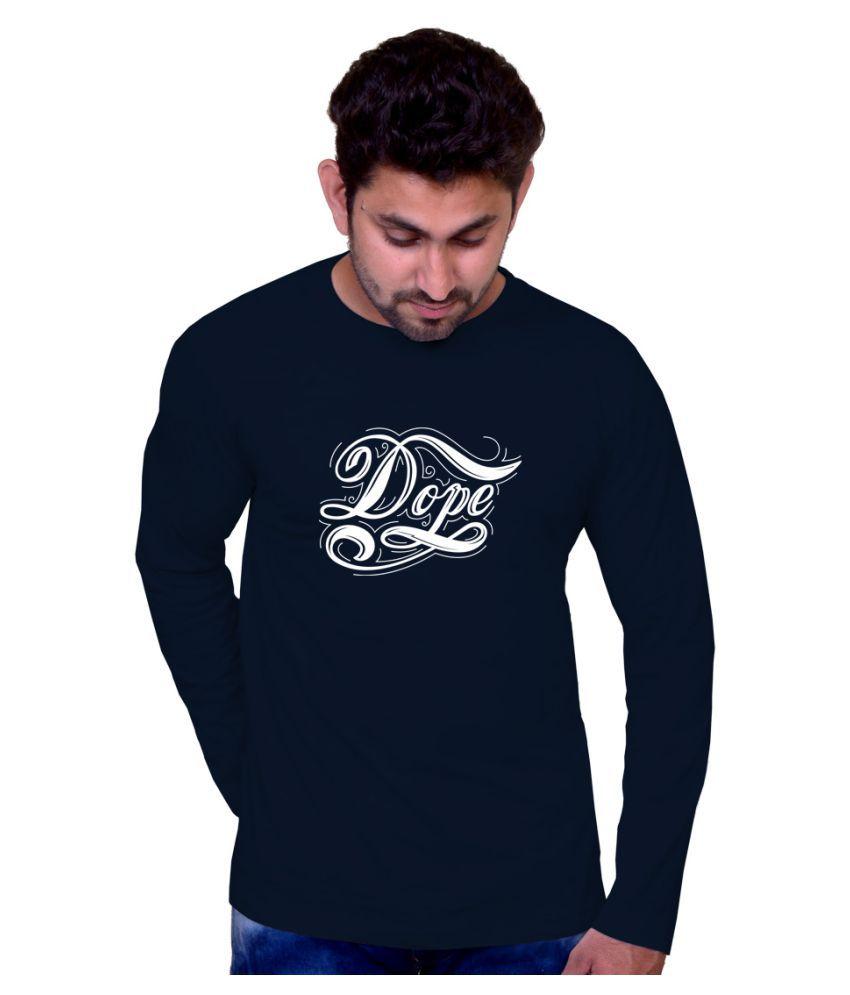 Inkit Blue Round T-Shirt