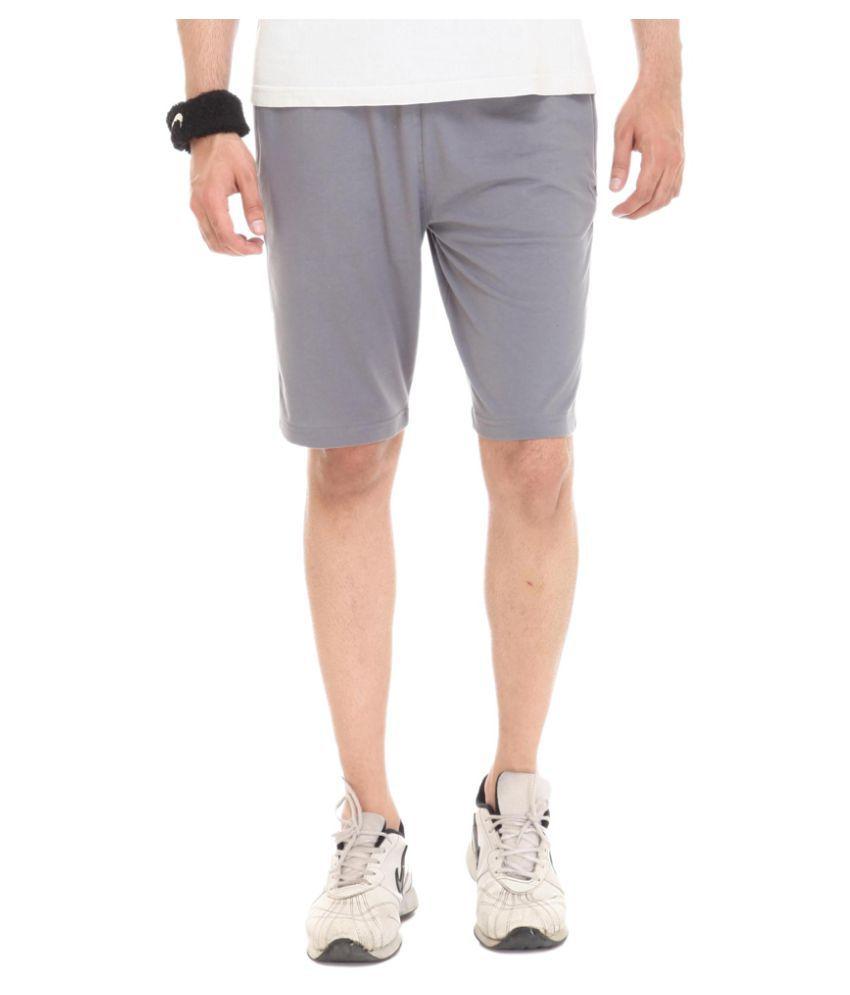 BAS Vampire Sports Shorts Gray