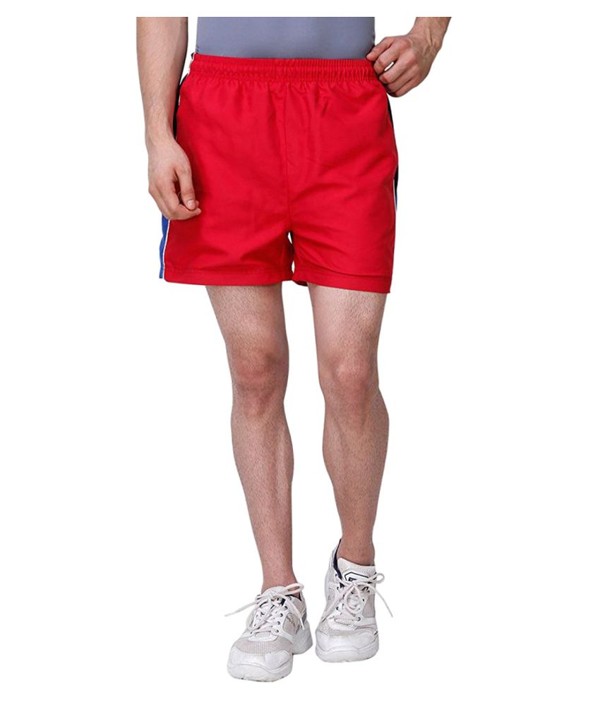 BAS Vampire Sports Shorts Red