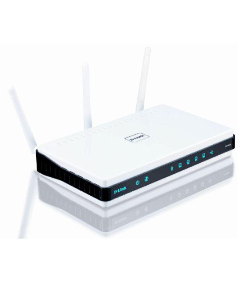 D-Link DIR-655 Xtreme N Gigabit Router (White)
