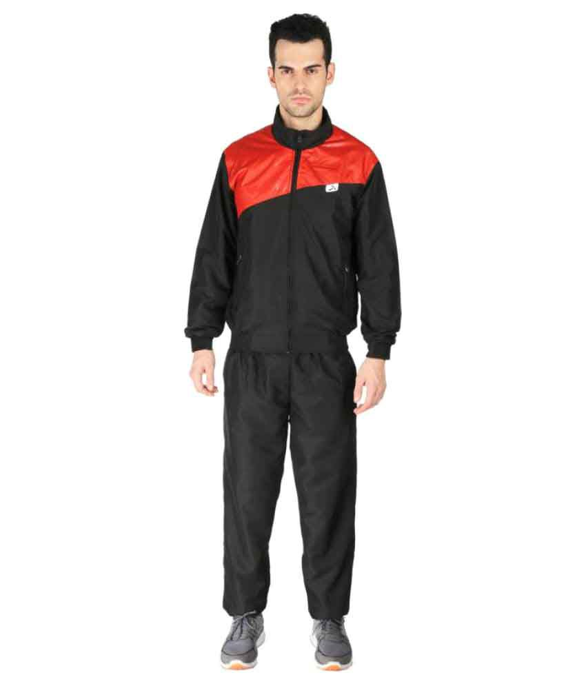 Vector X VTS-Dragon Red Solid Men's Track Suit