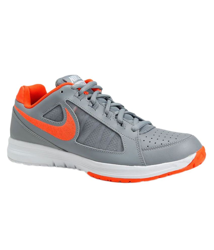 faacea4cfb73 Nike Air Vapor Ace Gray Male Non-Marking Shoes - Buy Nike Air Vapor Ace  Gray Male Non-Marking Shoes Online at Best Prices in India on Snapdeal
