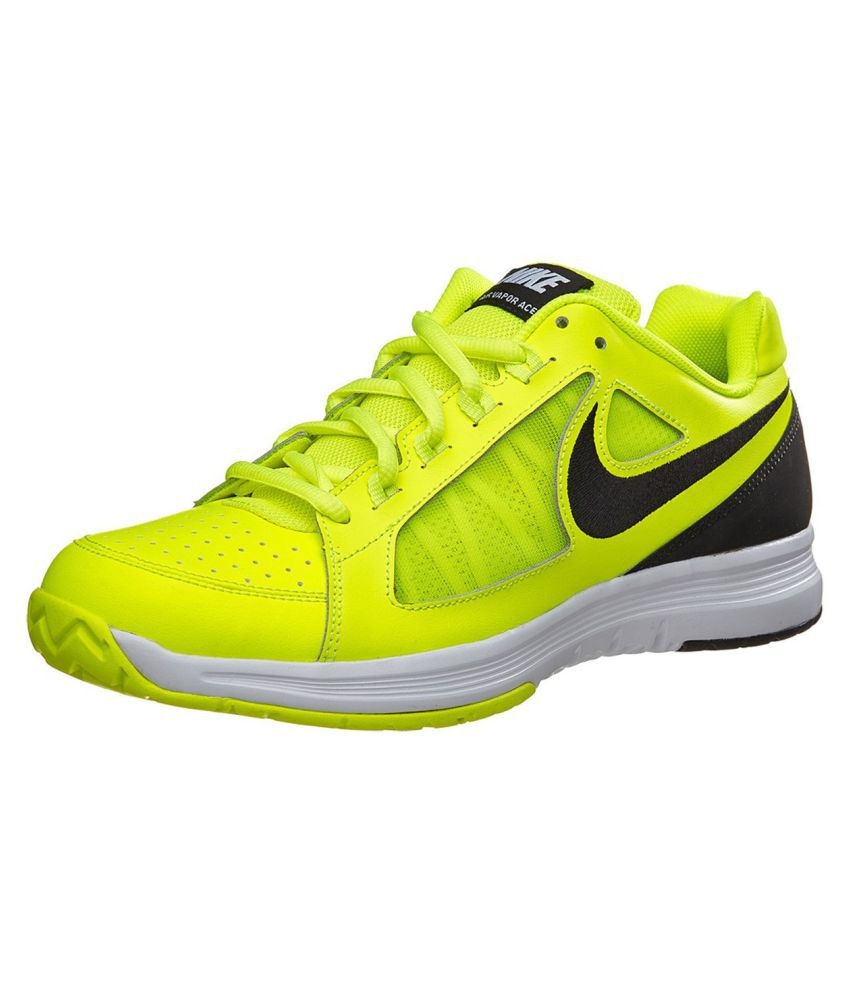 best cheap 9d2fa c94d5 Nike Air Vapor Ace Green Male Non-Marking Shoes - Buy Nike Air Vapor Ace  Green Male Non-Marking Shoes Online at Best Prices in India on Snapdeal