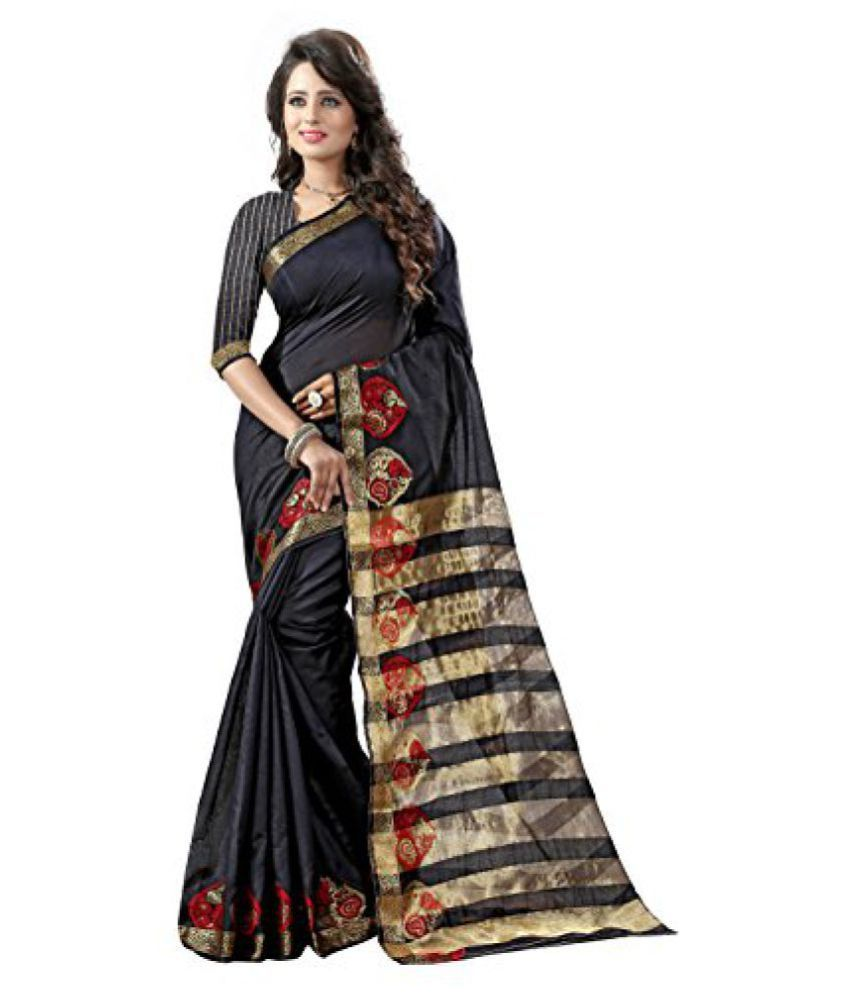 Shree Sondarya Bandhani Multicolor Banarasi Saree