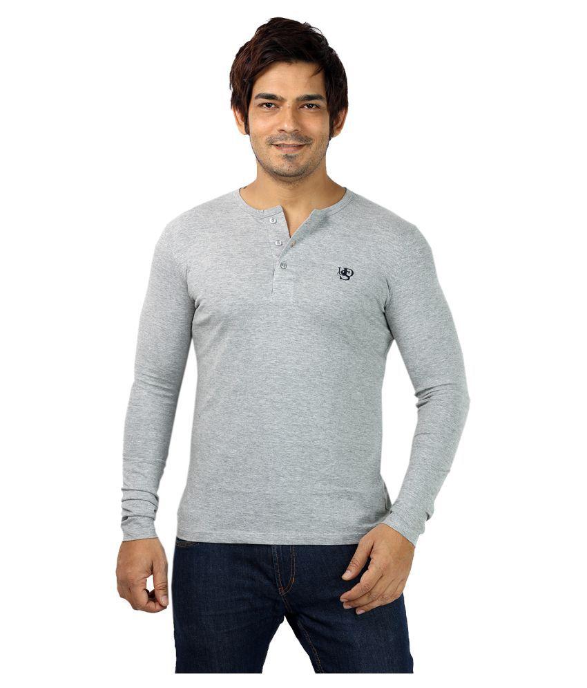 UD Sports Grey Henley T-Shirt