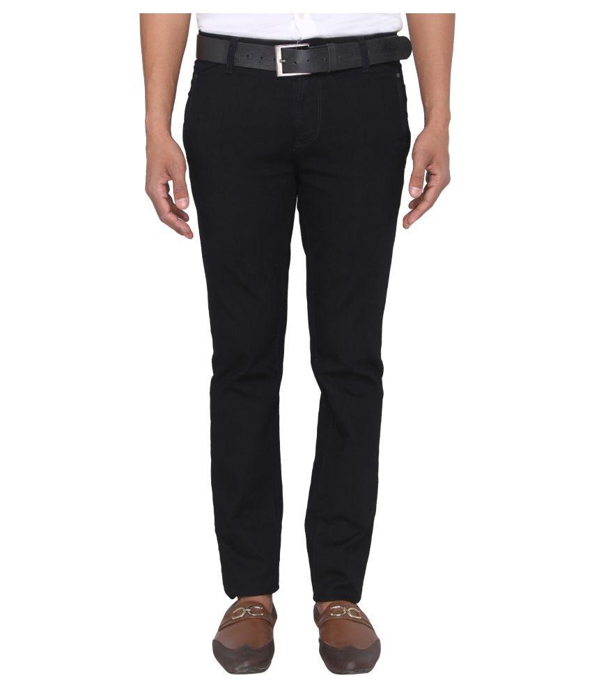 Irony Black Straight Jeans