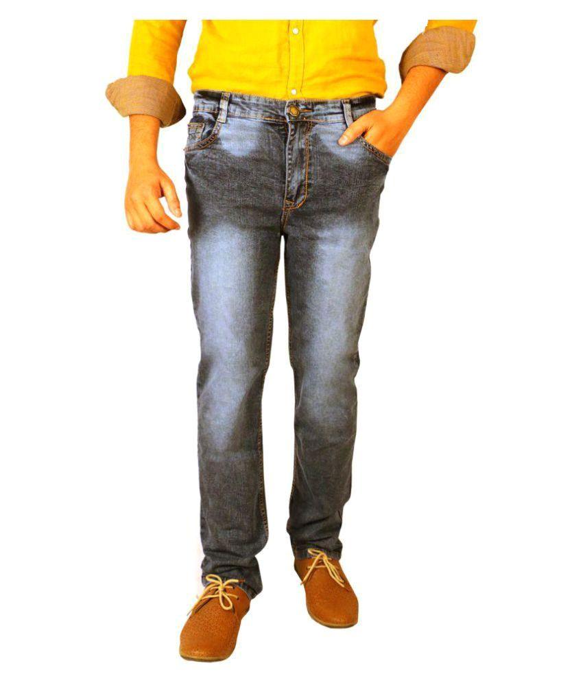 Allen Martin Grey Slim Jeans