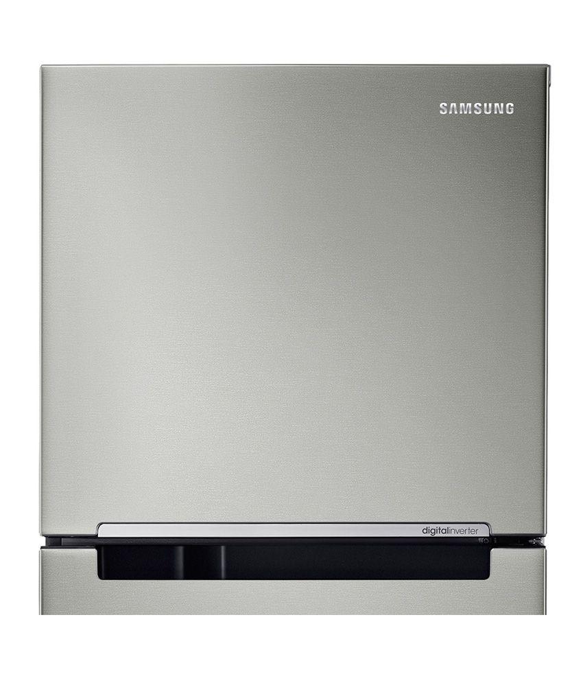 9b3131f42b7 ... Samsung 251 Ltr 3 Star RT28K3083S9 Frost Free Double Door Refrigerator  Refined Inox ...