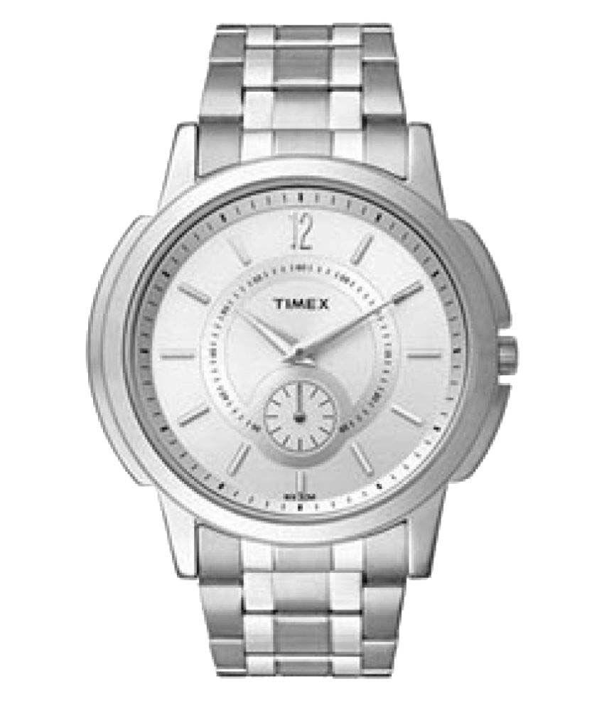 9c61d29b732 Timex Empera Analog Silver Dial Men's Watch - Buy Timex Empera ...