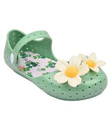 Flipside Kids Green Clogs