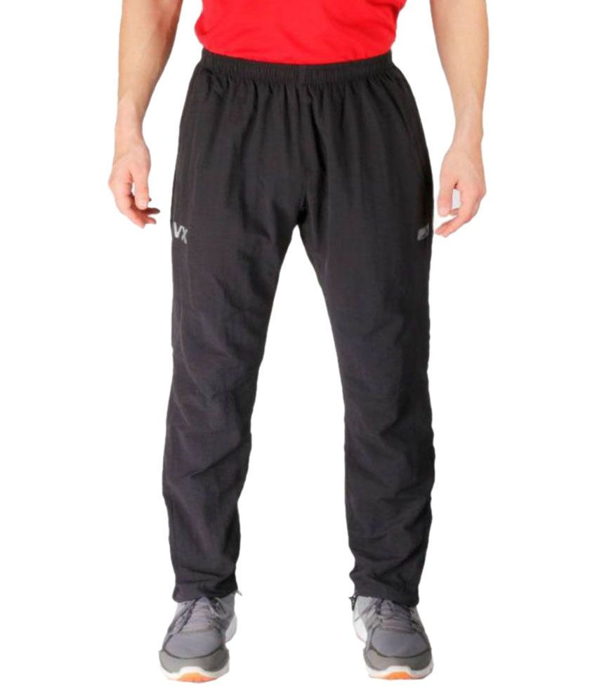 Vector X Black Track Pant