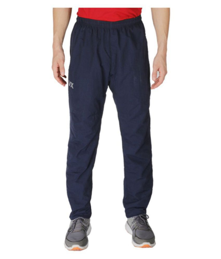 Vector X VL-1600-A Solid Men's Blue Track Pants