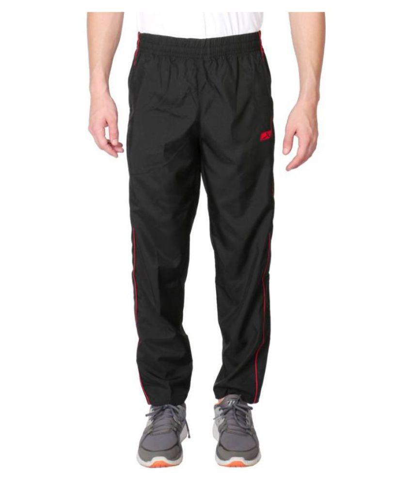 Vector X VL-500-D Solid Men's Black Track Pants