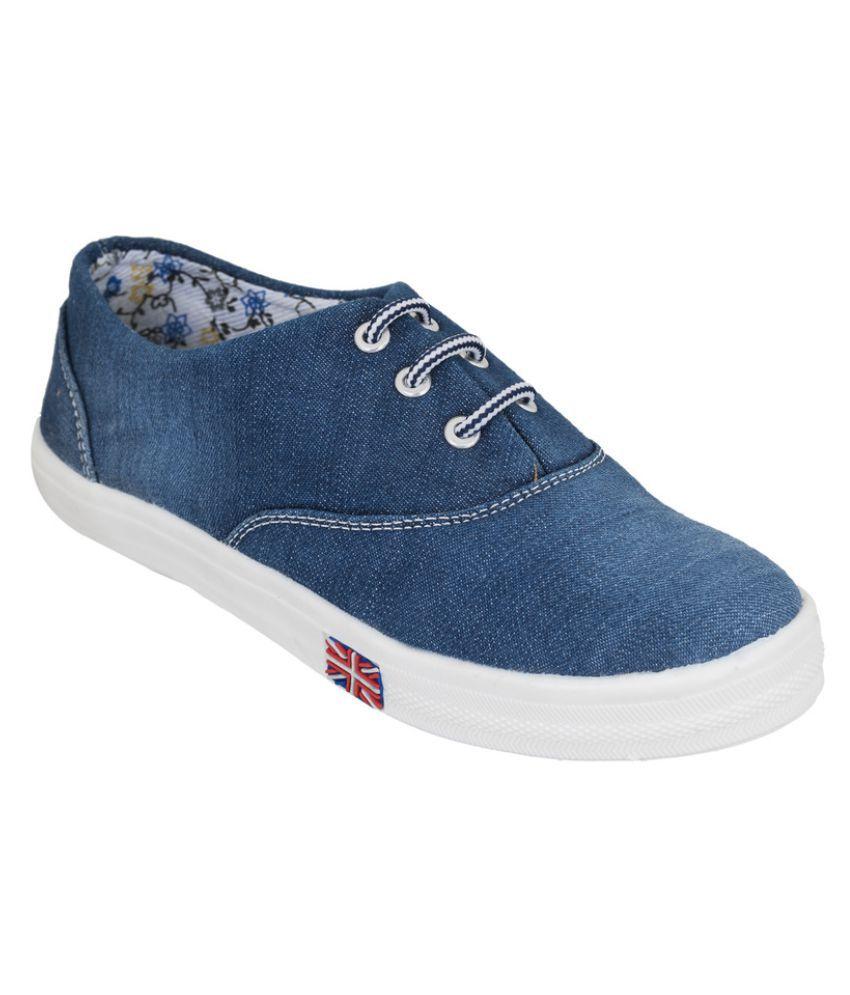 NE Shoes Blue Casual Shoes