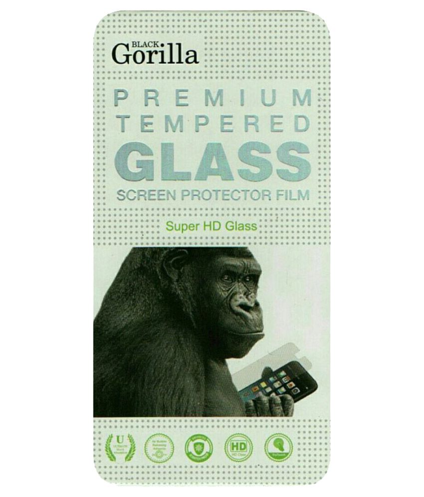 Micromax Canvas Fire 3 A096 Tempered Glass Screen Guard By Black Gorilla
