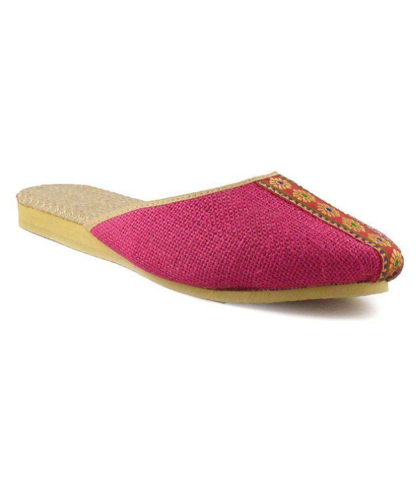 Bro Pink Flat Flats