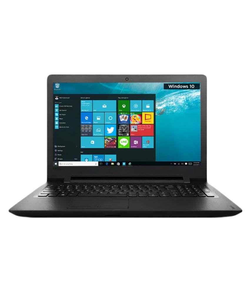 Lenovo Ideapad 110 (80T700CJIH) Notebook (Intel Pentium- 4 GB RAM- 500GB HDD- 39.62cm(15.6)- Windows 10) (Black)