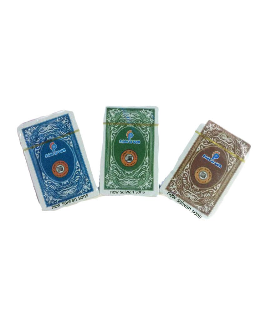 New Salwan Sons Plastic Playing Cards