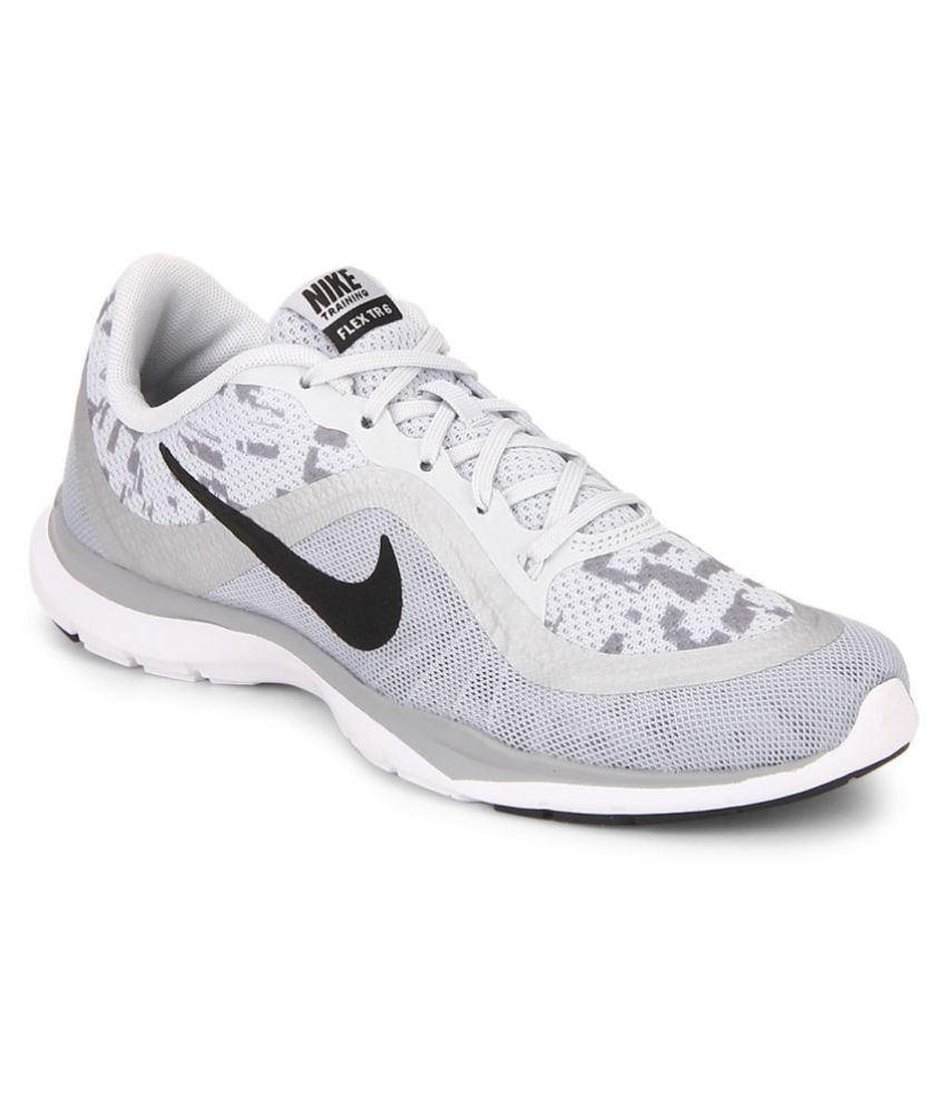 Nike Flex Trainer 6 Print White Running Shoes Price in India- Buy Nike Flex  Trainer 6 Print White Running Shoes Online at Snapdeal eb4e46302bf8d