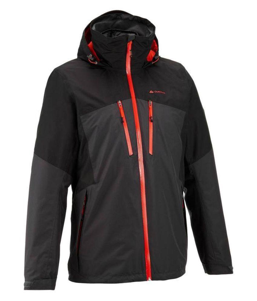 Quechua Black Hiking Jacket