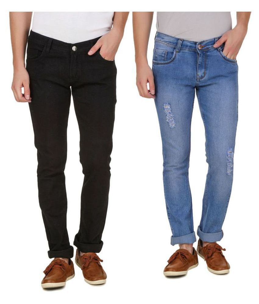 Haltung Multicolored Slim Jeans