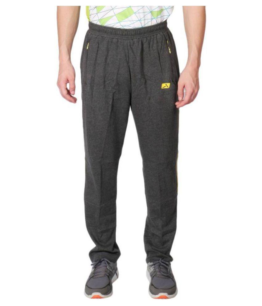 Vector X VL-1000-E Solid Men's Grey Track Pants