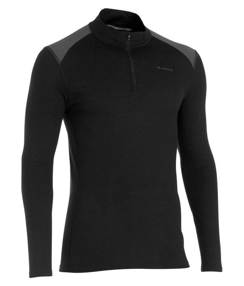 Quechua 190 Zip Long Sleeve Hiking T-shirt