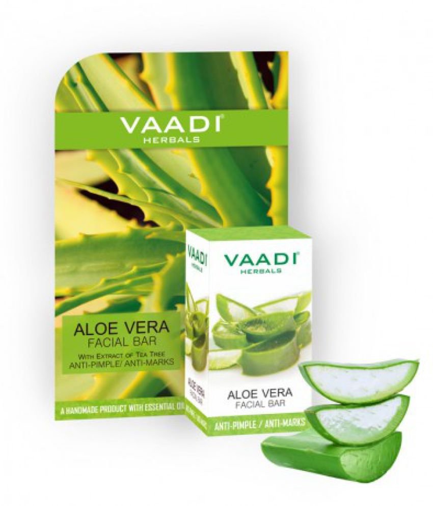 Vaadi Herbals Aloe Vera Facial Bathing Bar 25 Gm Snapdeal deals