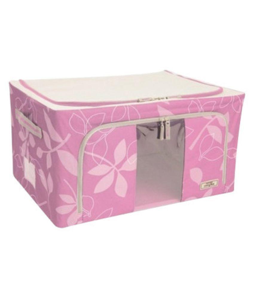 Kanha Pink Saree Covers - 1 Pc