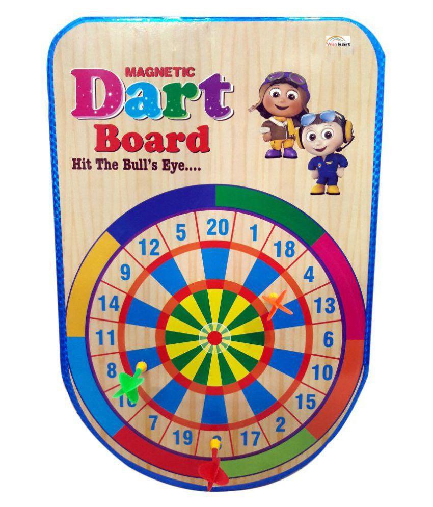 Wish Kart Magnetic Dart Board Game