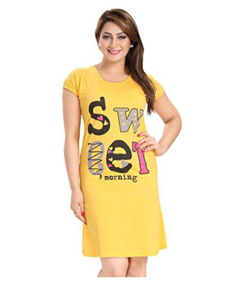 Buy AV2 Women Cotton Short Nighty Online at Best Prices in India - Snapdeal ee1343649504